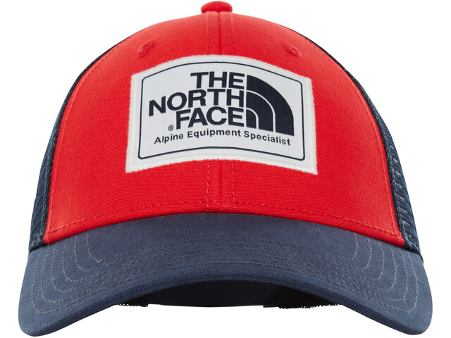 The North Face Mudder - Couvre-chef - rouge/bleu